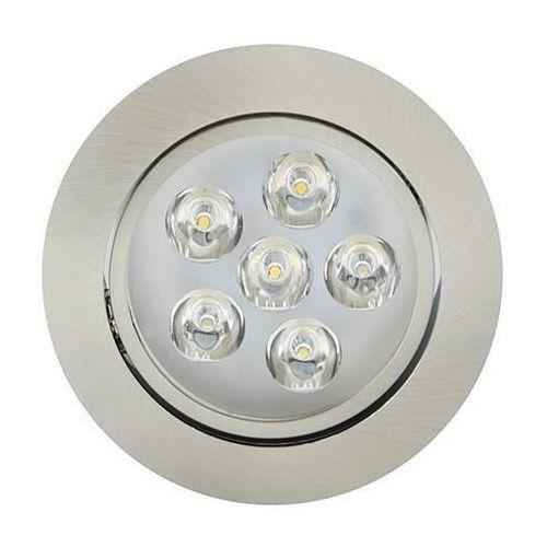 Ideus Oczko lampa sufitowa hl675l 01702 podtynkowa oprawa metalowa led 6w okrągły wpust satyna