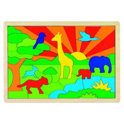 Goki Puzzle ekologiczne dżungla