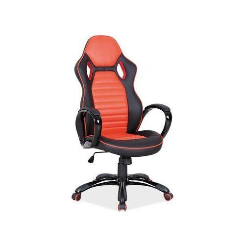 Fotel obrotowy, krzesło biurowe Q-105 red