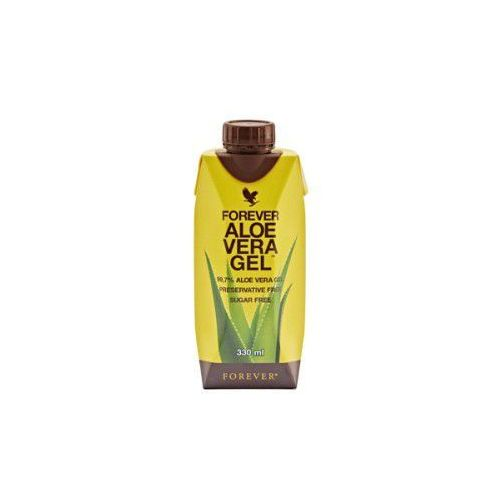 Miąższ Aloesowy, 99,7% soku z liści aloesu - Forever Aloe Vera Gel Mini, Opakowanie 330 ml
