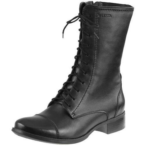 Botki Lesta 6294 - Czarne 1093, kolor czarny