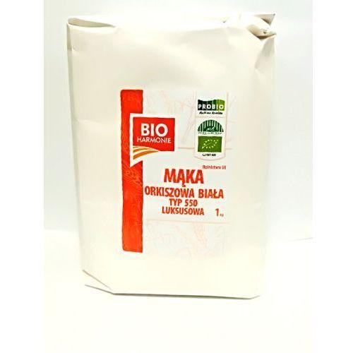 Bioharmonie Mąka orkiszowa biała bio typ 550 1kg (8594008915821)