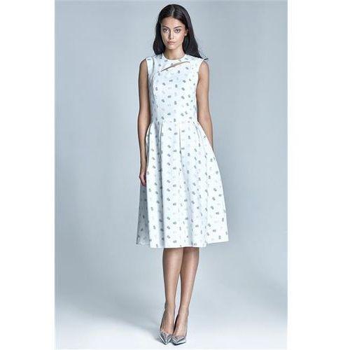 Sukienka Model Ann S73 1212 Ecru/Beige