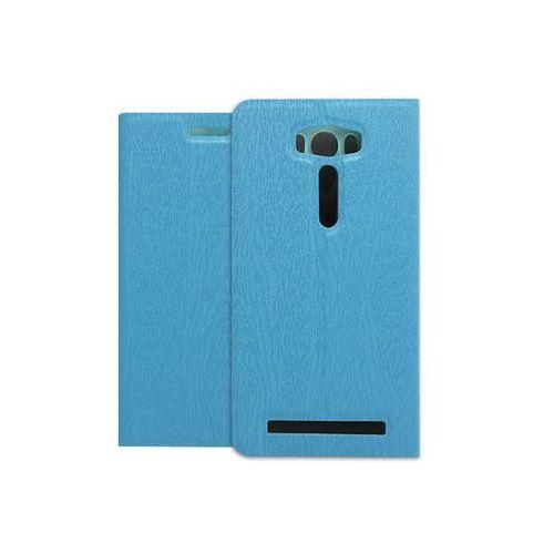 Etuo flex book Asus zenfone 2 laser (ze500kl) - pokrowiec na telefon - niebieski