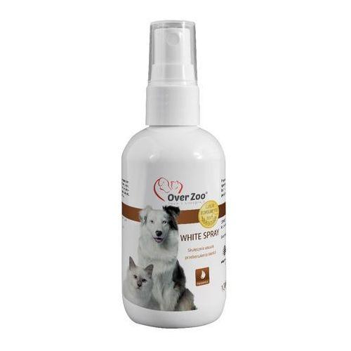 Over Zoo White Spray - płyn usuwający zażółcenia sierści 100ml (5901157040725)