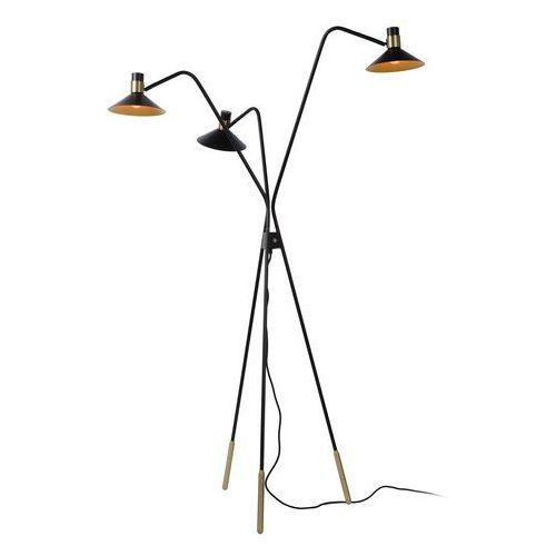 Lucide pepijn 05728/03/30 lampa stojąca podłogowa 3x40w e14 czarny (5411212051189)