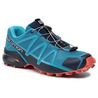 Salomon Buty - speedcross 4 407864 28 v0 fjord blue/navy blazer/cherry tomato