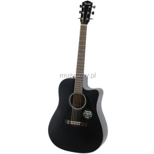Fender CD140 SCE Black gitara elektroakustyczna, FENCD140SCEBK
