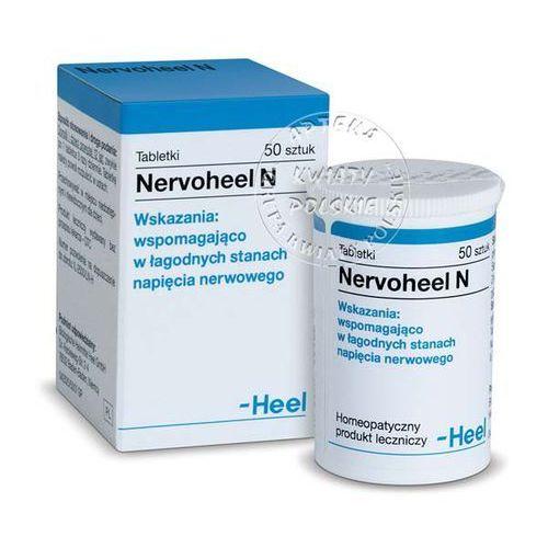 Heel nervoheel n x 50 tabl - produkt farmaceutyczny