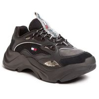Sneakersy TOMMY JEANS - Fashion Chunky Runner EM0EM00408 Black BDS