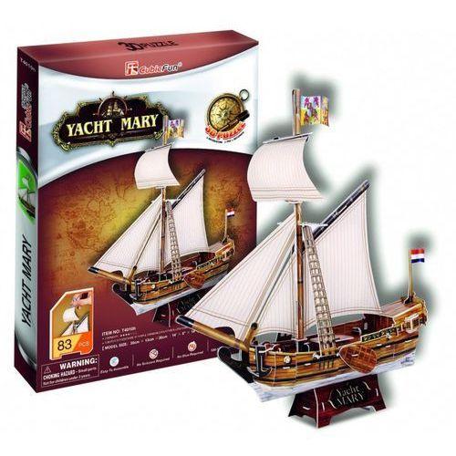 Cubic fun Puzzle 3d jacht mary