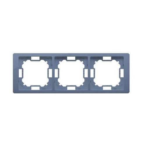 Simon basic neos ramka 3-krotna – uniwersalna poziom i pion; lawendowy bmrc3/035 wmyz-04320n-l013 marki Kontakt simon