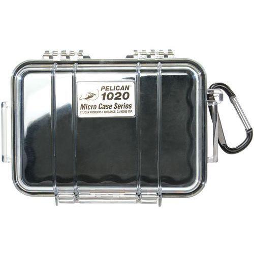 Peli 1020 mikro skrzynia / czarna-przeźroczysta