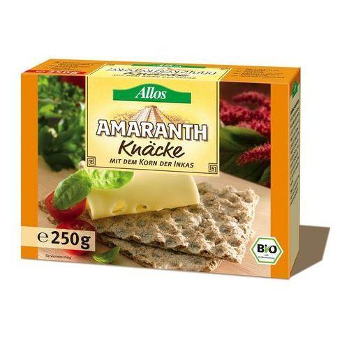 Allos Pieczywo chrupkie amarantusowe bio 250g -