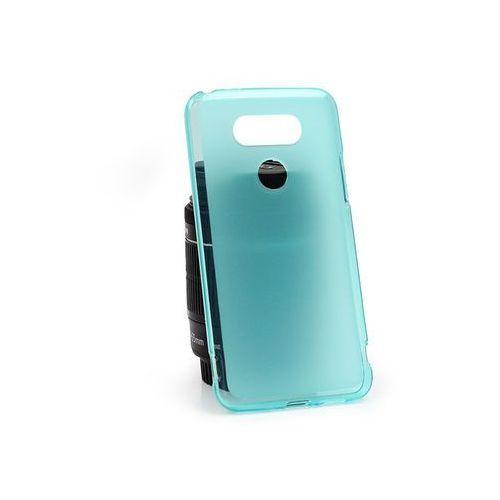 LG G5 SE - etui na telefon FLEXmat Case - niebieski, kolor niebieski