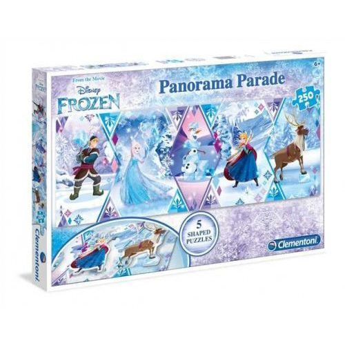 Clementoni 250 elementów Panorama Parade Linia Specjalna Kraina Lodu (8005125297498)