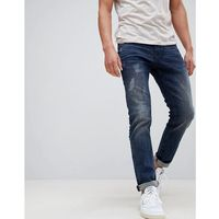super slim jeans with distressing - blue marki Tom tailor