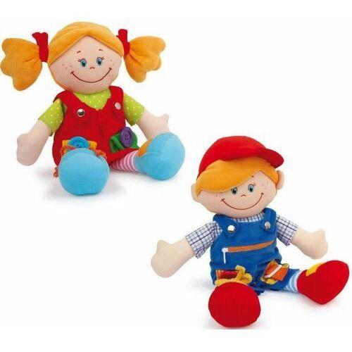 Small Foot 5576 Pluszowe lalki Chiara i Massimo 7 aktywności