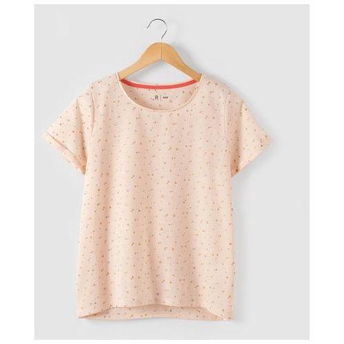 Koszulka z nadrukiem, ozdobiona cekinkami w kształcie trójkątów 10-16 lat, marki R pop