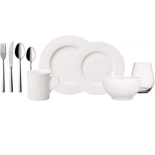 twist alea 36el, 4os - serwis śniadaniowo - obiadowy, porcelana marki Villeroy&boch