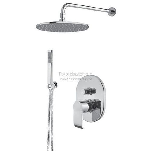 stile kompletny zestaw prysznicowy deszczownica słuchawka stilezes20 marki Armando vicario