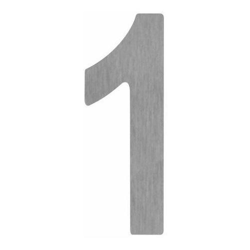 Cyfra 1 z tworzywa 180 mm srebrna (5905367001569)
