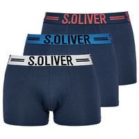 s.Oliver 3 – pack bokserki męskie XL ciemnoniebieski (4059998129077)