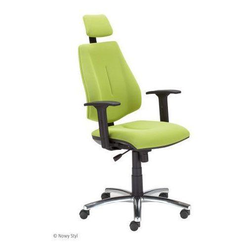 Krzesło biurowe gem hru r26s steel 04 chrome z mechanizmem active-1 marki Nowy styl
