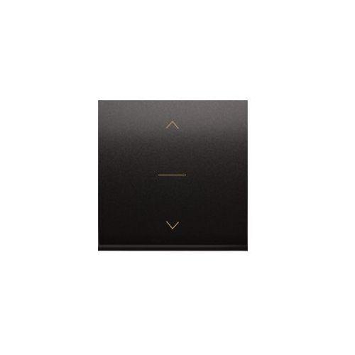 Klawisz podwójny z piktogramem żaluzjowym do podświetlenia SIMON 54 Antracyt