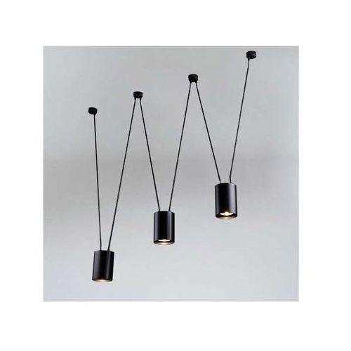 LAMPA wisząca VIWIN 9022 Shilo metalowy OPRAWA zwis tuby czarne (1000000428261)
