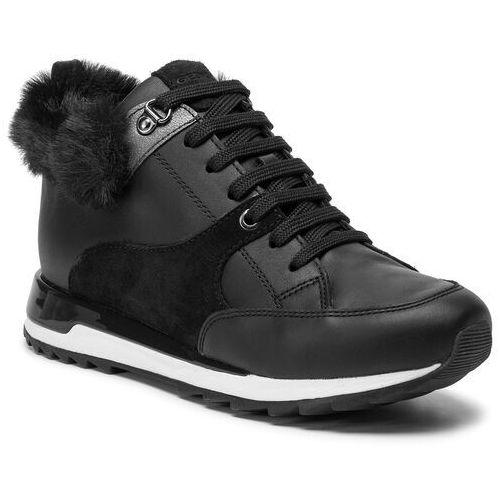 Sneakersy GEOX - D Aneko B Abx B D943FB 08522 C9999 Black 001