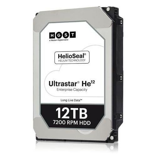 Dysk twardy HGST Ultrastar He12 0F30144 HDD 3.5'' 12TB 7200 RPM SATA III 6Gb/s 256MB 512E ISE | HUH721212ALE600