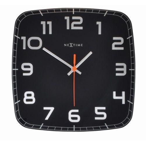 NeXtime - zegar ścienny Classy - czarny