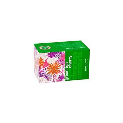 Herbata zielona cejlońska z czereśnią marki Kolorowe herbaty
