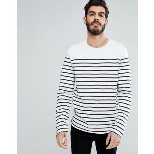 Levi's Stripe Long Sleeve T-Shirt in Navy - Navy, w 2 rozmiarach