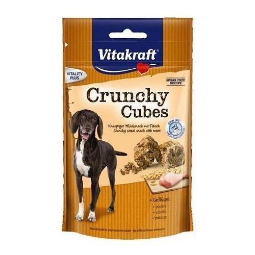 Vitakraft Pies Crunchy Cubes drób 140g, PVIT030