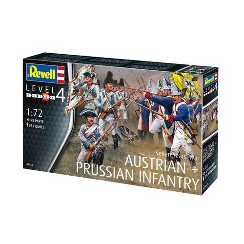 Revell Seven Years War Austtrian & Prussian Infantry, GXP-607736