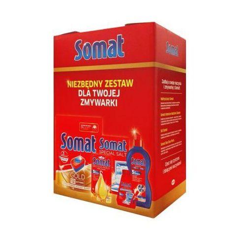 Zestaw środków do zmywarek marki Somat
