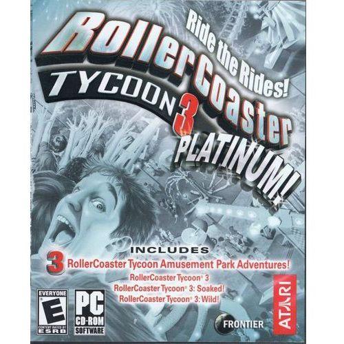 OKAZJA - Rollercoaster Tycoon 3 (PC)
