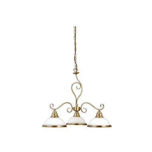 Lampa wisząca zwis oprawa Rabalux Elisett 3X60W E27 brązowa 2753, 2753