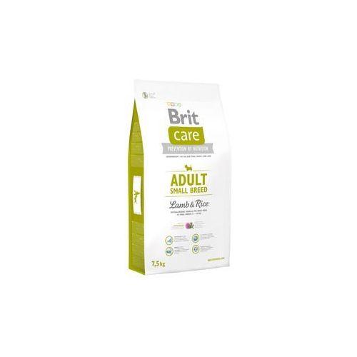 Brit care adult small breed lamb & rice - sucha karma dla małych psów jagnięcina i ryż 7,5 kg (8595602509881)