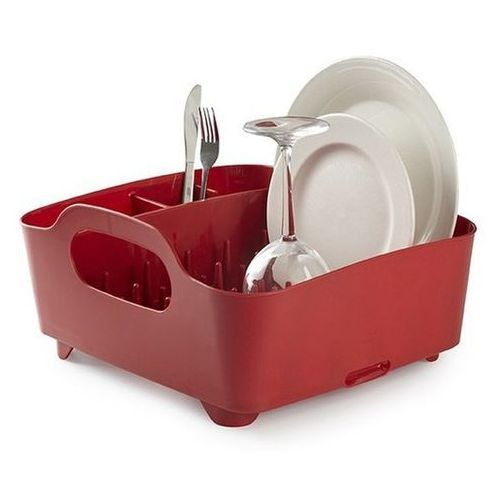 - ociekacz do naczyń tub - czerwony - czerwony marki Umbra