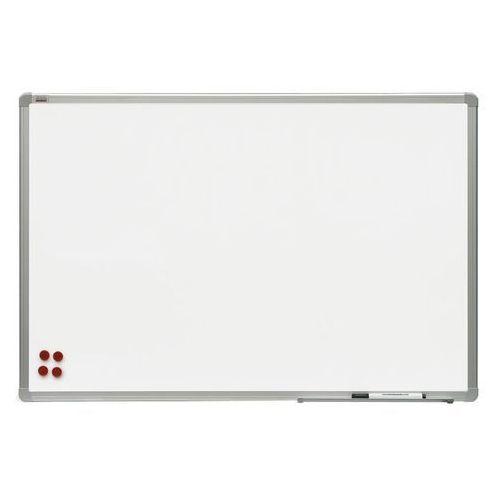 2x3 Tablica suchościeralna magnetyczna ceramiczna rama aluminiowa officeboard 120x90 cm (5907636707295)