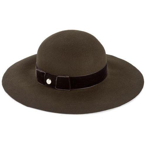 Kapelusz LIU JO - Cappello Tesa Larga A67231 T0300 Radice 80920, kolor zielony