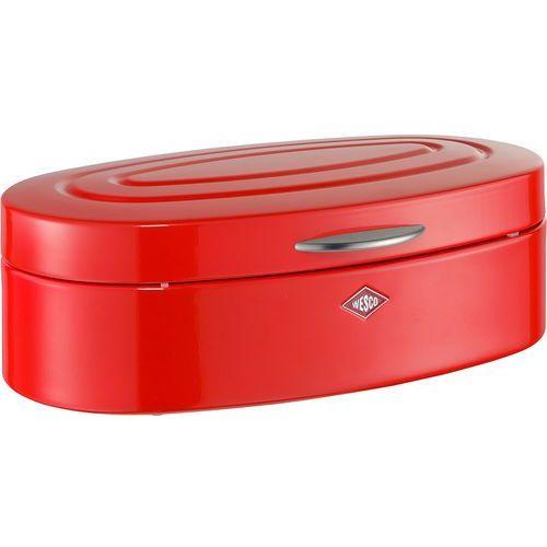 Chlebak owalny czerwony duży Elly Wesco (236201-02)
