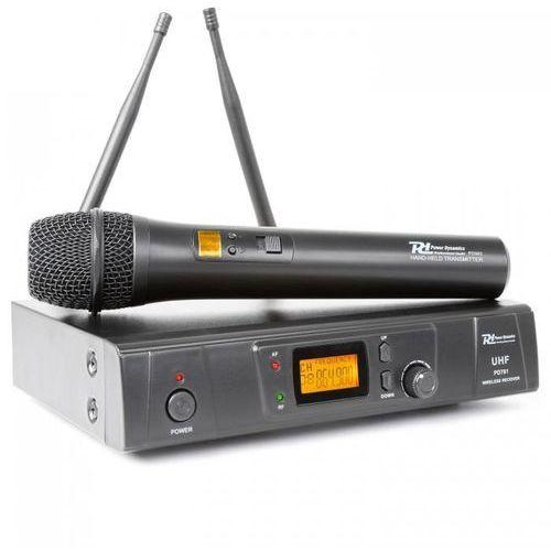 Power Dynamics D781 Bezprzewodowy, 8-kanałowy system mikrofonowy UHF, 179.193