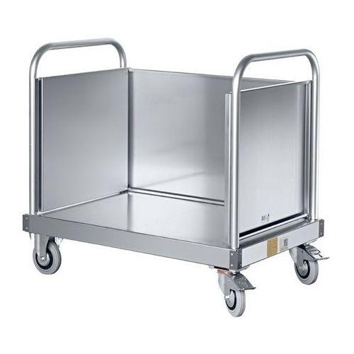 Ścianka boczna, jednoczęściowa, do aluminiowego wózka platformowego. ścianka boc marki Zarges