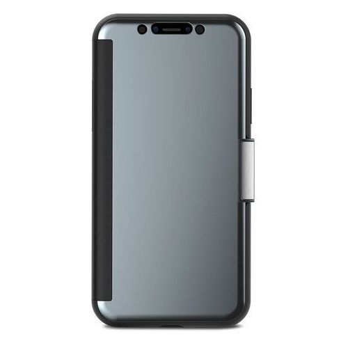 Moshi StealthCover - Etui iPhone X (Gunmetal Gray), 99MO102021