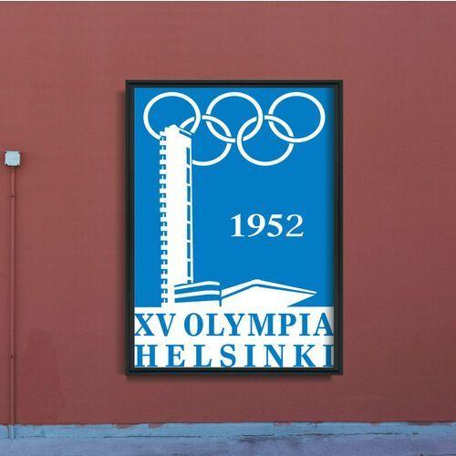 Vintageposteria.pl Plakat vintage do salonu plakat vintage do salonu igrzyska olimpijskie w helsinkach