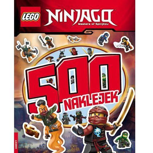 Ameet Lego ninjago 500 naklejek - opracowanie zbiorowe